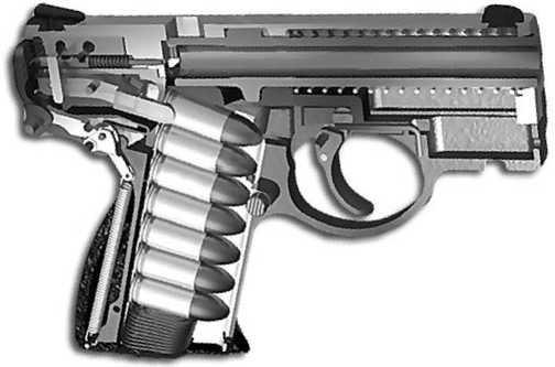 Схема пистолета Boberg XR9.