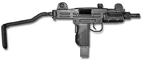 Пистолет-пулемет Mini-Uzi.