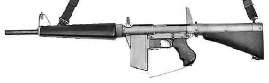 Atchisson assault shotgun — прототип ружья Атчиссона.