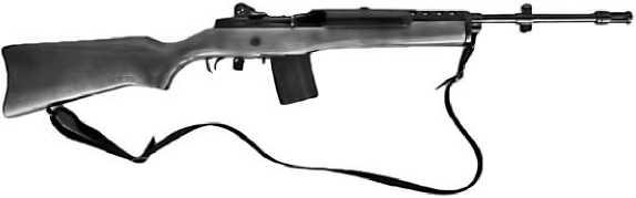 Карабин <a href='https://arsenal-info.ru/b/book/2262838534/38' target='_self'>Ruger Mini-14</a> в классическом исполнении.