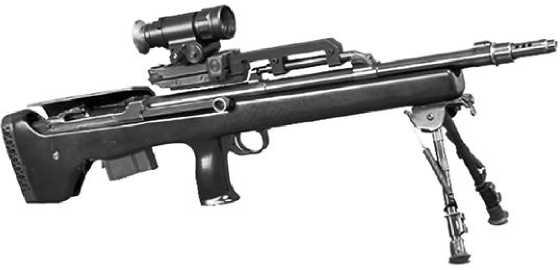 Компактная снайперская винтовка TEI M89-SR.