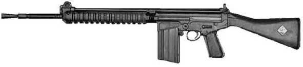 Прототип винтовки FN FAL.
