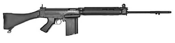 Бельгийская штурмовая винтовка FN FAL.