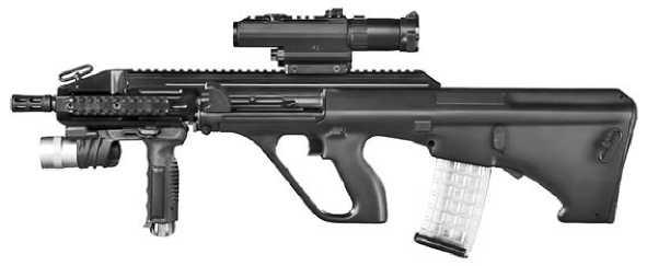 Последняя модель винтовки AUG — AUG A3.