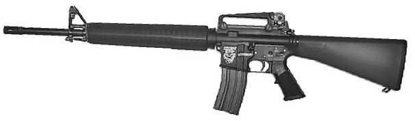 Штурмовая винтовка M16A3.