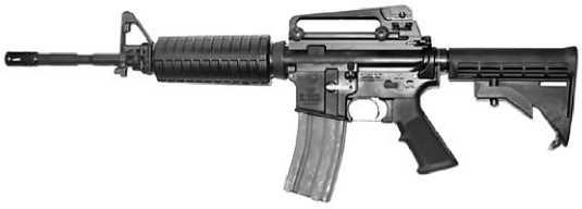 Штурмовой карабин M4A1.