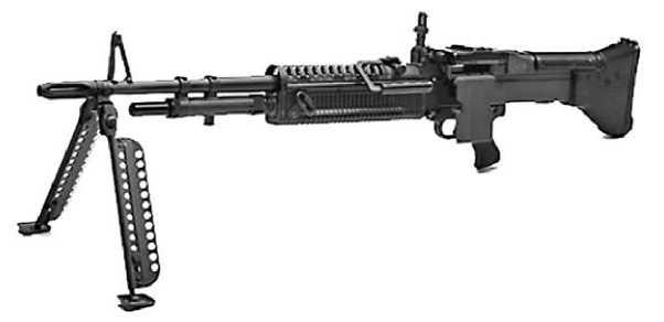 Единый пулемет М60.