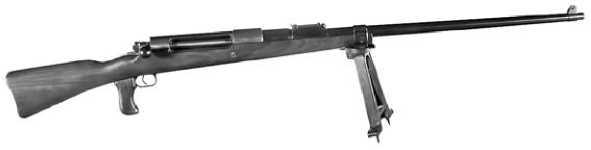 Первое противотанковое ружье — Mauser Tankgewehr 1918.