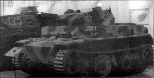 Легкий танк Pz.Kpfw.II Ausf.L в экспозиции танкового музея в Самюре (Франция).