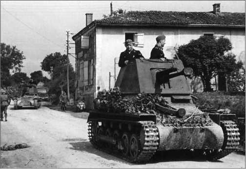Боевое крещение Panzerjager I состоялось в ходе Французской кампании 1940 года.