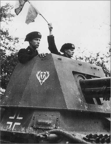 САУ Panzerjager I на боевой позиции. Франция, июнь 1940 года.