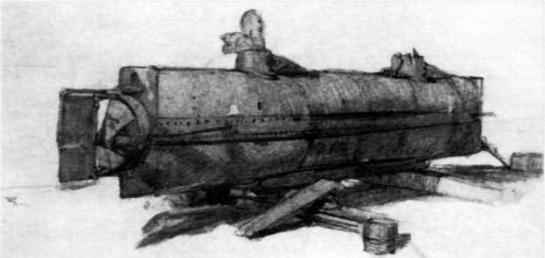 «H.L.Hunley»(1863 r.)