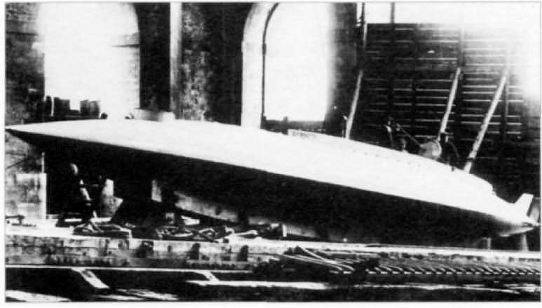 «Gymnote» Зедэ (1888г.)