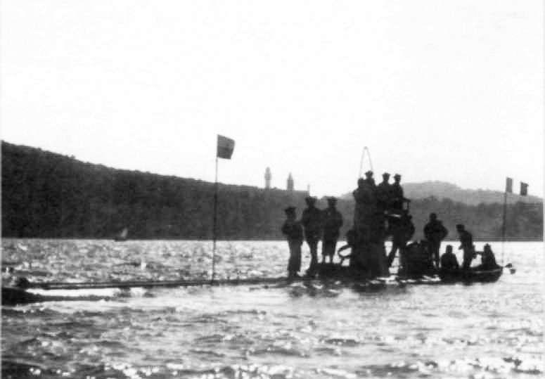 Субмарина «Gustave Zede» (1893г.)