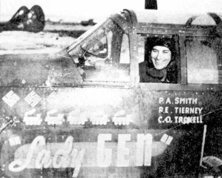 «Lady GFN» — персональный самолет лейтенанта Пола Смита, одного из двух летчиков P-61, записавшего на свой счет пять побед. Смит сбил Ме-410, Не-111, Ju-88 и два Ju-188. Кроме того на счету Смита — один самолет снаряд V-1 и пять поездов. Вместе со Смитом летал оператор РЛС Роберт Тирни.