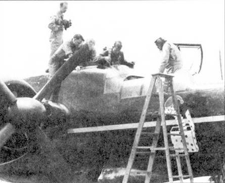 Сержант Лоуренс Ламберт стал первым американцем, испытавшим на себе катапультируемое кресло. Платформой для испытания кресла стал самолет P-61B серийный номер 42-39496 «Jack in The Box». Первый испытательный отстрел кресла в полете состоялся 17 августа 1946г., катапультирование прошло успешно.