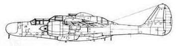 P-61 С XP-61D