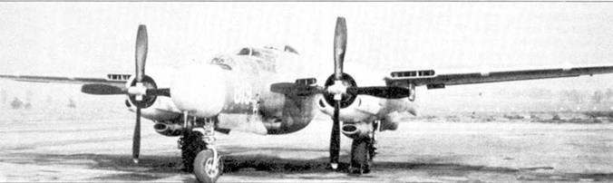 Прототип XP-61C впоследствии был переделан в вариант XP-61D. Машина изначально представляли собой серийный P-61A, но оснащенный двигателями Пратт-энд-Уитни R-2800-77 мощностью по 2800 л.с. Всего было построено два прототипа XP-61C, на обоих машинах окрашивались (в желтый цвет) лишь капоты двигателей.
