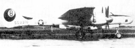 USAAF заказали 175 фоторазведчиков F-15А «Репортер», но до аннулирования кон тракта в 1947г. фирма Нортроп успела сдать всего 36 машин. Самолеты поступили на вооружение 8-й фоторазведывательной эскадрильи.