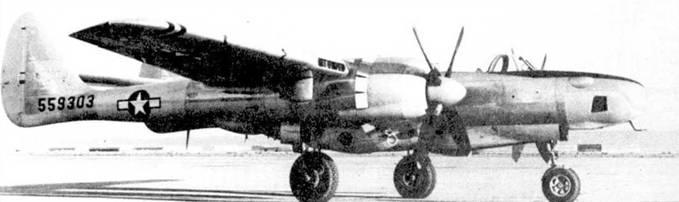 Серийные фоторазведчики F-15A-1 были идентичны второму прототипу XF-15A, но имели двигатели от P-61C, кроме того небольшим доработкам подверглись фонарь кабины и носовая часть фюзеляжа с отсеком фотооборудования.