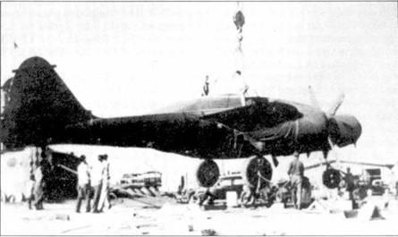 Первым «Блэк Уидоу», доставленным в Великобританию стал самолет P-61A-1 серийный номер 42–54%. Самолет передали RAF, он испытывался в Боскомб-Дауне. Сравнив американский ночной истребитель с «Бофайтер» и «Москито», англичане нашли P-61 слишком медлительным.