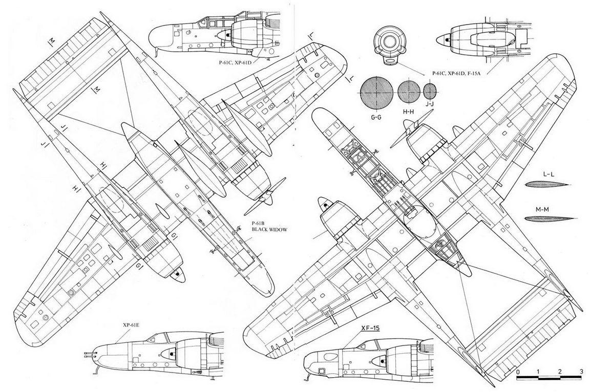 Нортроп P-61В