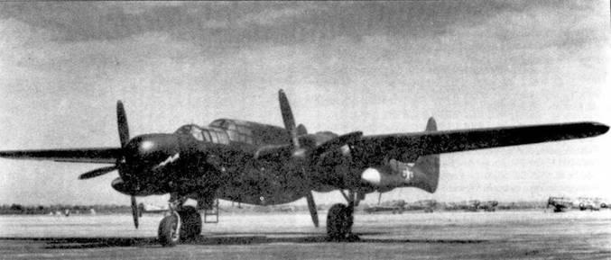 Часть самолетов была переоборудована в тренировочный вариант TP-61, с них в частности демонтировали турели. Отдельные машины продолжали эксплуатироваться после окончания войны.