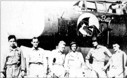 Самолет «Jap Batty» одним из первых истребителей 6 NFS был переброшен на Сайпан в июне 1944г. На этой машине над Сайпаном было сбито по меньшей мере два японских самолета.