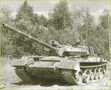 Модернизированный танк чехословацкого производства Т-55АМ2, оснащенный СУО «Кладиво».