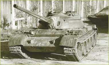 Огнеметный танк ТО-54.