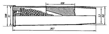 Таблица 2 Характеристики пистолетных и револьверных патронов