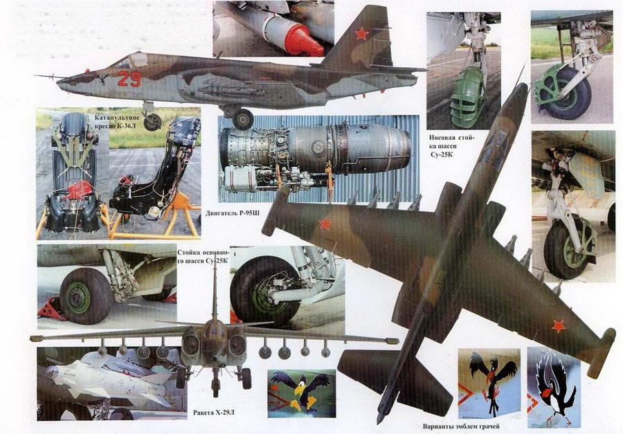 Су-25 с бортовым номером «29»