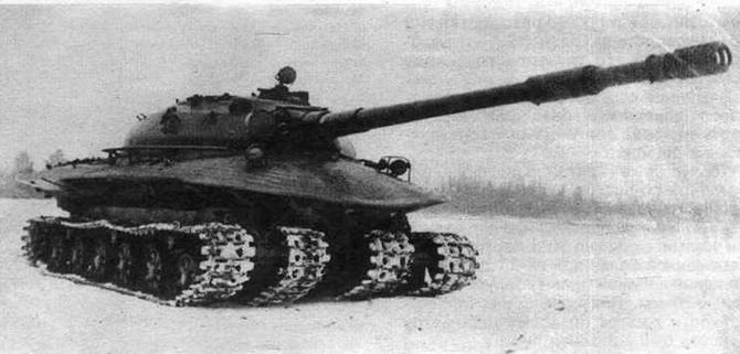 Объект279 на испытаниях зимой 1959/60 года. Фото из коллекции М.Коломийца