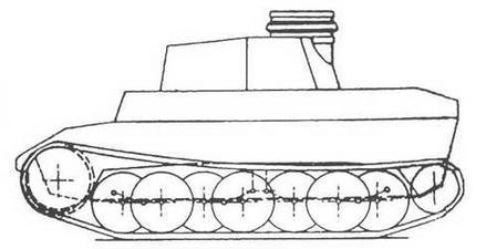 Проект фирмы Daimler-Benz — VК 2001 (D).
