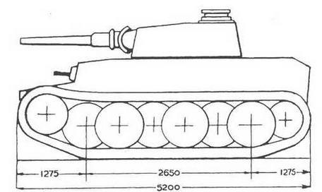 Проект фирмы Krupp — VK 2001 (К).