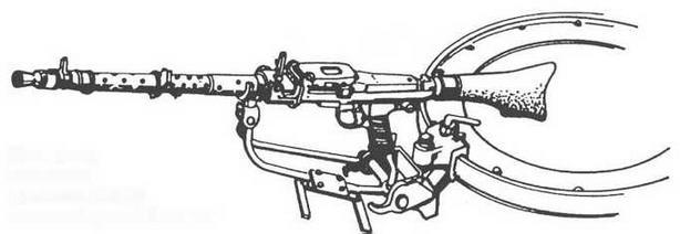 Установка <a href='https://arsenal-info.ru/b/book/3005399322/33' target='_self'>зенитного пулемета</a> MG 34 на командирской башенке