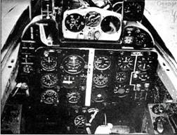 Приборная доска самолета Е-50