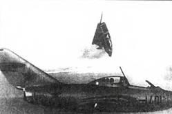 Испытание системы катапультирования «СК» на летающей лаборатории УТИ МиГ-15