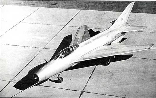 Е-2 – первый прототип МиГ-21