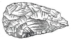 2.Ашельское ручное рубило