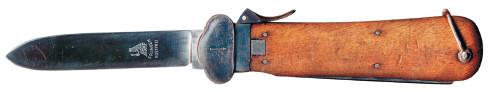 23.Немецкий инерционный строповый нож образца 1937 года