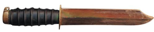 24.Штатный водолазный немагнитный нож