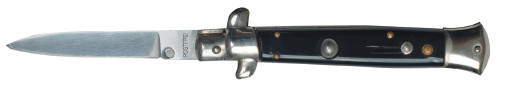 286. Нож автоматический с S-образной гардой