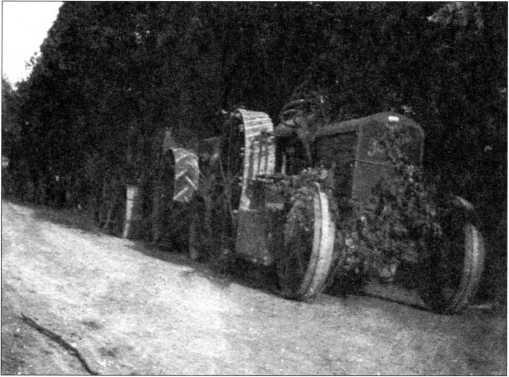 Трактор «Подеус» германской армии (архив автора).