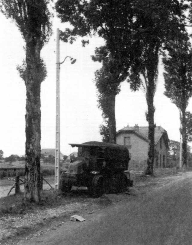 Германские трофеи французской кампании. Трактора «Латиль»(архив автора).