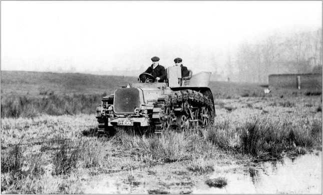 Трактор «Хорнсби» (архив автора).