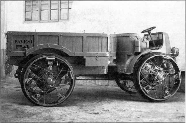 Грузовой вариант «Павези»,предлагавшийся к поставкам в 1922–1923гг.(РГВА).