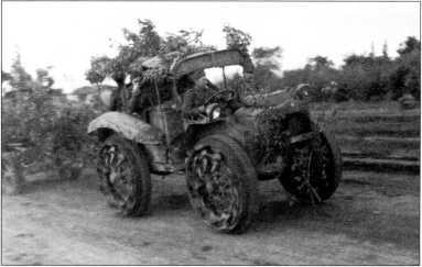 «Павези» на Восточном фронте(архив автора).