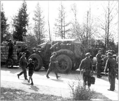«Павези» на колесах с пневматиками высокого давления.Западный фронт(архив автора).
