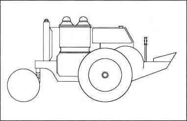 Трактор «Лабтрак» В. 26–28. Проект.